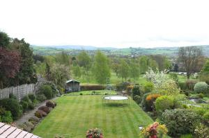 Our Garden with views to Kinder. Dog will not be enclosed like a kennel.